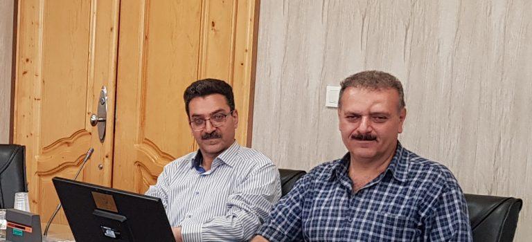 انتصاب جناب آقای دکتر بستان اسلامی به عنوان مدیر آب و خاک سازمان جهاد کشاورزی فارس