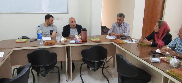 جلسه مشترک فی مابین شرکت های عضو انجمن و شرکت مشاور حسابداری در تاریخ ۹۷/۰۲/۱۹