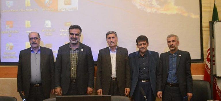 مراسم تکریم و معارفه رییس شرکت خدمات حمایتی کشاورزی فارس برگزار شد