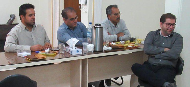 جلسه ارائه نرم افزار اتوماسیون اداری انجمن مهندسی آب فارس
