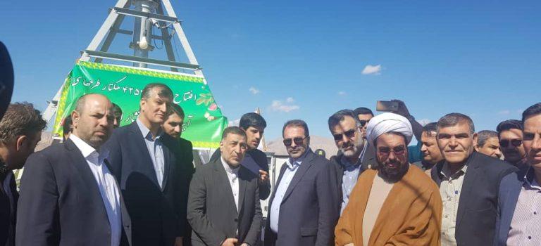 افتتاح همزمان بیش از ۴ هزار هکتار پروژه آبیاری نوین
