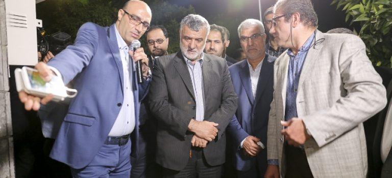 افتتاح سامانه وضع آبیاری در فارس