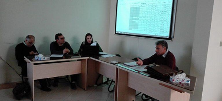 جلسه هم اندیشی و نهایی سازی طرح منطقه بندی پیمانکاران مورخ ۹۶/۰۹/۲۸
