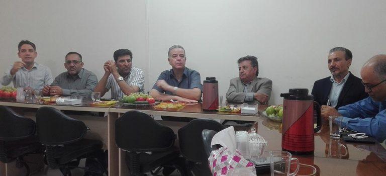 گزارش جلسه هیئت مدیره با انجمن تولیدکنندگان